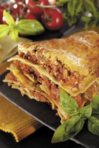 Des lasagne à la cuisson basse température