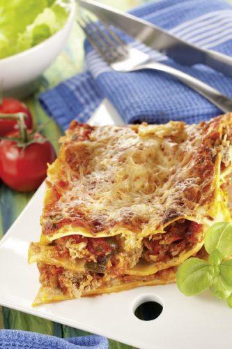 Des lasagnes à basse température