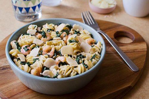 La recette de one pot pasta aux crevettes