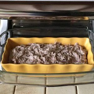 Un pain cuit à la vapeur douce