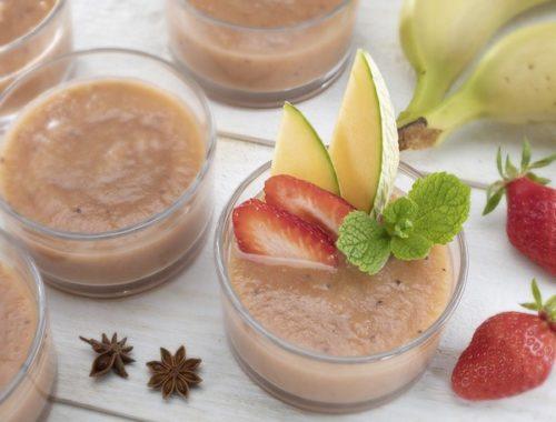 Un dessert aux fruits sans sucre