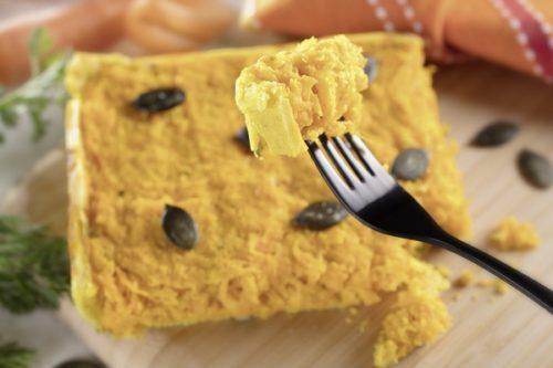 Une tarte aux épices à la vapeur douce