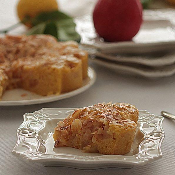 gâteau moelleux aux pommes citron cuisson vapeur douce