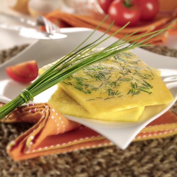 La cuisson d'une omelette à basse température
