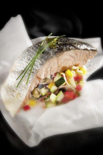 Un poisson cuit à basse température