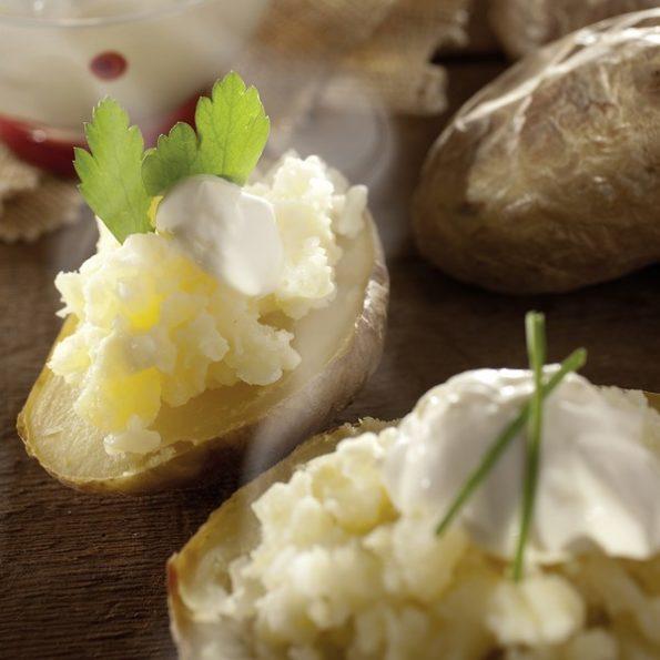 Pomme de terre braises cuisson vapeur douce