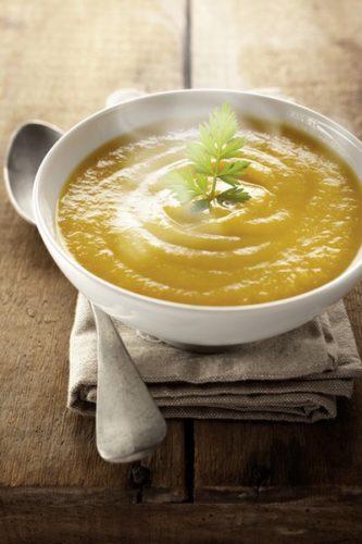 Soupe légumes cuisson basse température