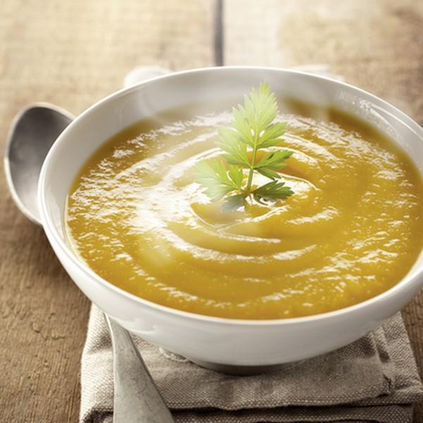 Soupe végétarienne cuisson vapeur douce