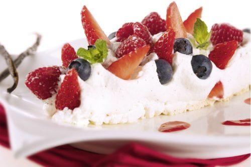 Dessert meringue basse temperature