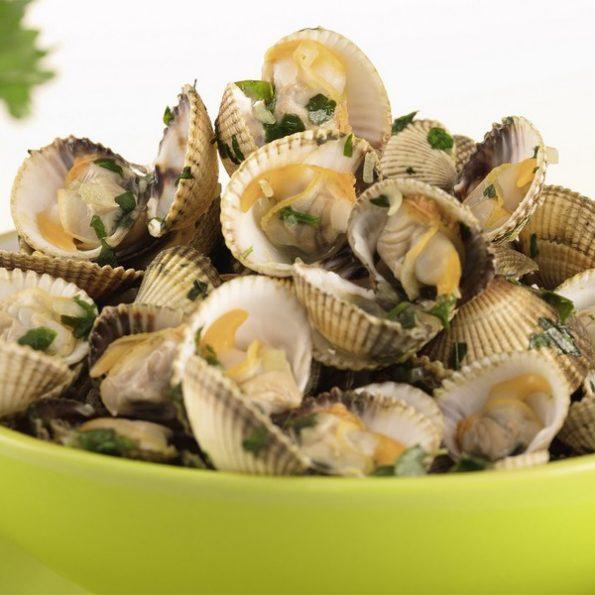 recette salade fruits de mer vapeur