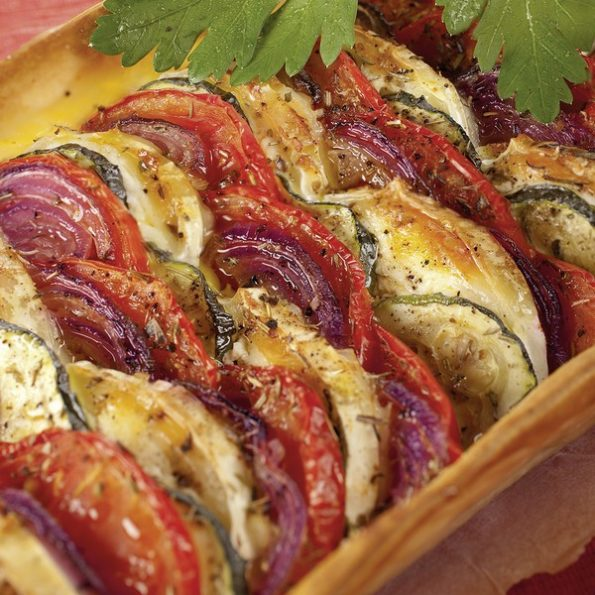Tarte legume veggie