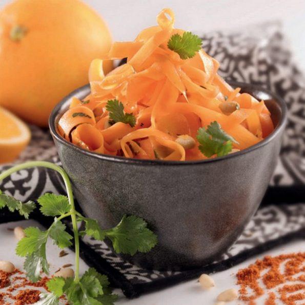 recette carotte vapeur douce