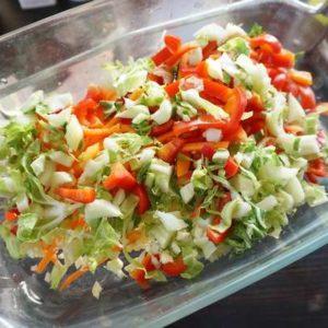 plat veggie vegan