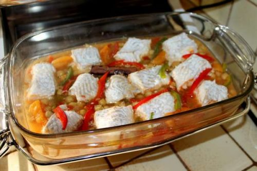 plat sauce poisson