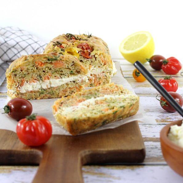 recette basse cuisson cake saumons creme citron