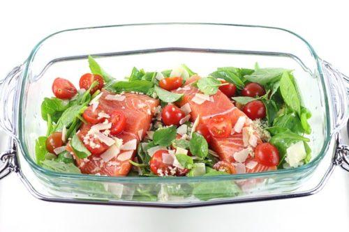 recette paves saumon toscane omnicuiseur
