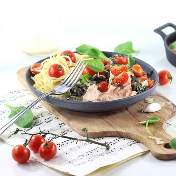 recette paves saumon toscane vapeur douce