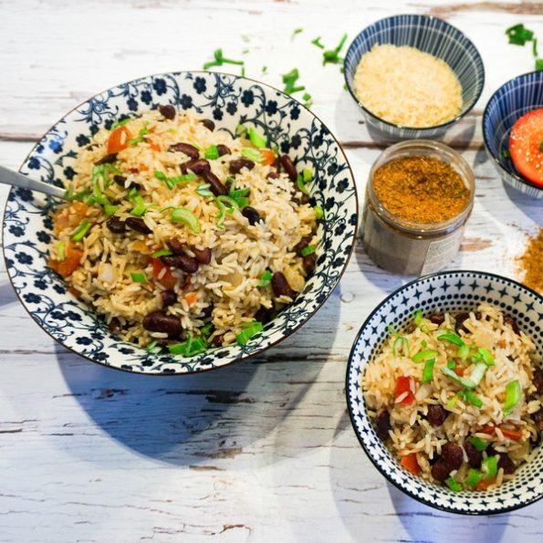recette riz creole haricots rouges omnicuiseur