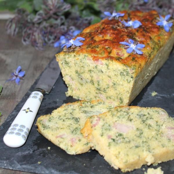 recette-cake semoule bourrache omnicuiseur