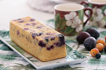 cake skyr fruits ete basse cuisson