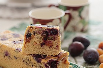 cake skyr fruits ete cuisson vapeur