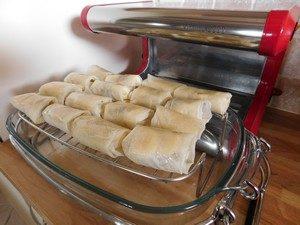 rouleaux banane chocolat cuisson douce